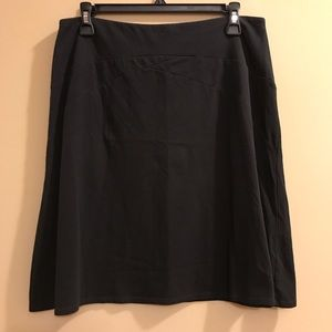 Patagonia Black Organic Cotton Skirt